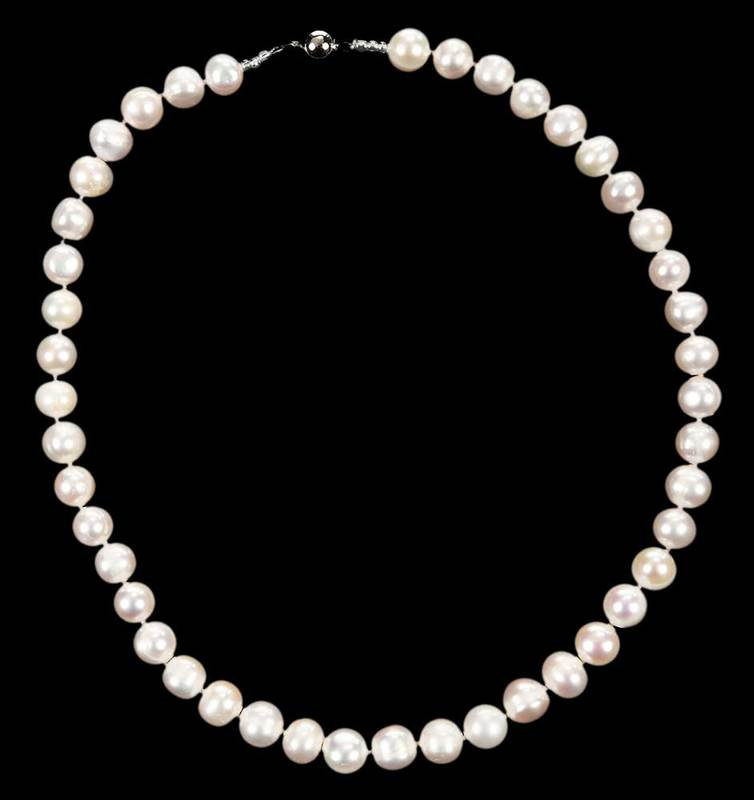 14kt. Gold Pearl Necklace