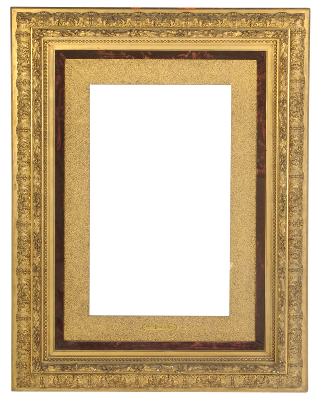 19th Century Gilt wood and Composition Frame