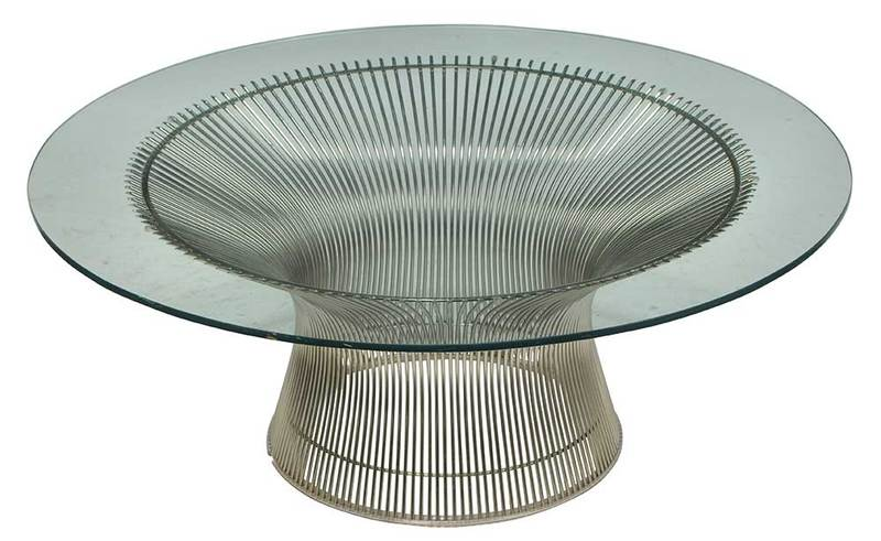Mid-Century Platner Coffee Table by Knoll