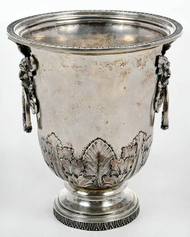 Small Silver Urn/Cooler