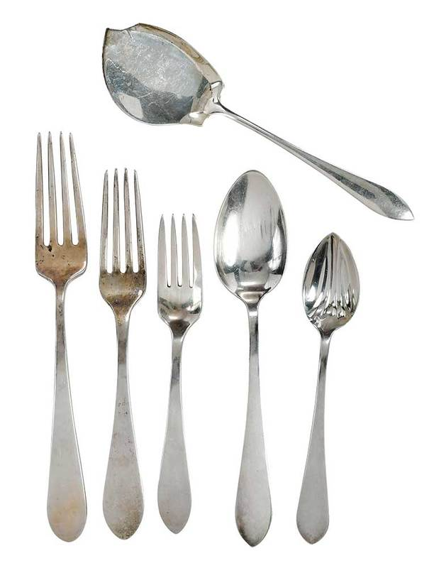 Tiffany and Gorham Sterling Flatware