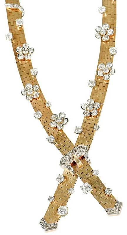 14kt. Gold & Diamond Necklace