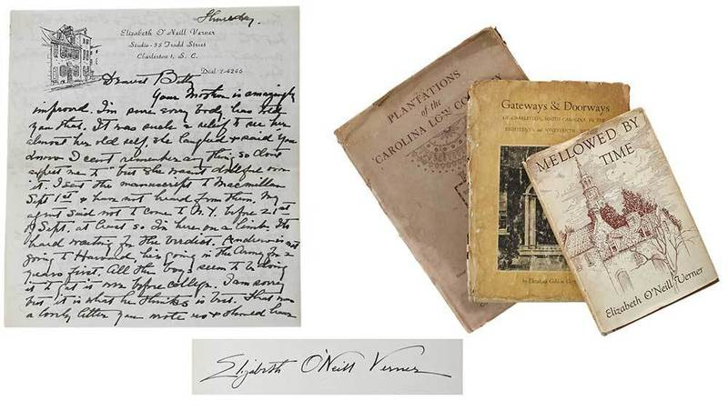 Three Southern Related Books, Verner Letter