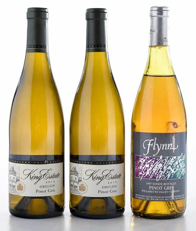 Three Vintage Oregon Pinot Gris