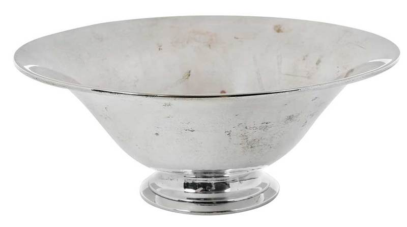 Porter Blanchard Sterling Footed Bowl