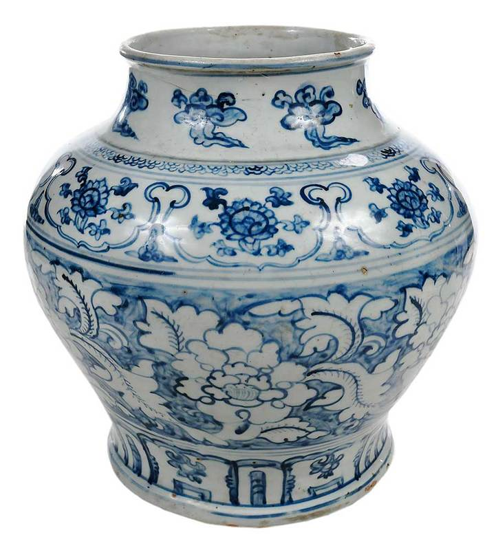 Blue and White Chinese Vase