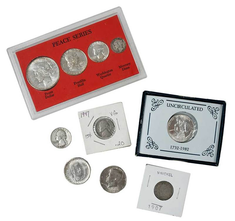 Assorted Collector Coins