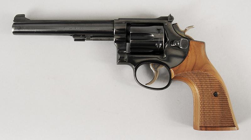 Smith & Wesson Model 17-2 Revolver