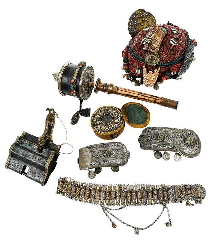 Six Eurasian Ceremonial Items