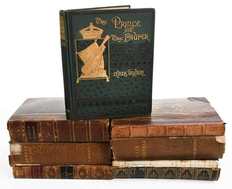 Seven Literature Titles, Twain and Dickens