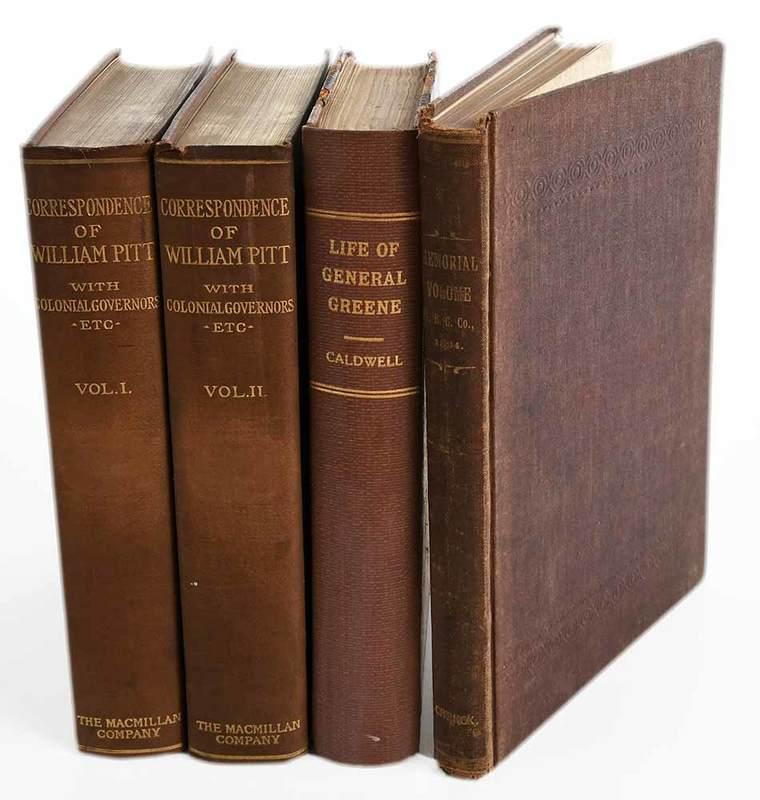 Three Revolutionary War Titles
