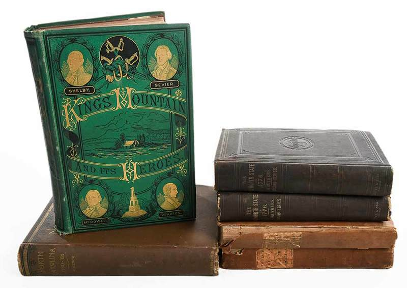 Six Titles on N.C. Revolutionary War History