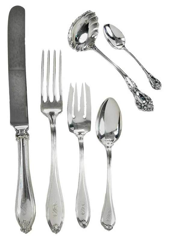 Paul Revere Sterling Flatware and More, 51 Pieces