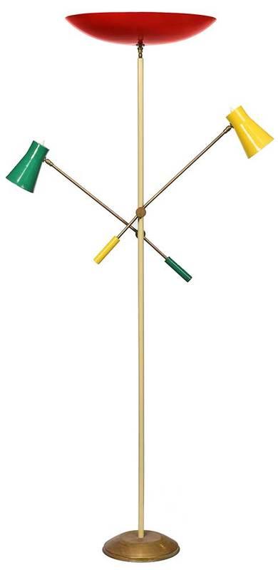 Vintage Stilnovo Adjustable Lamp