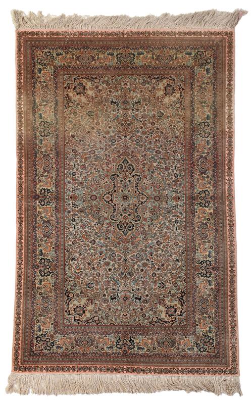 Fine Woven Turkish Hereke Prayer Rug