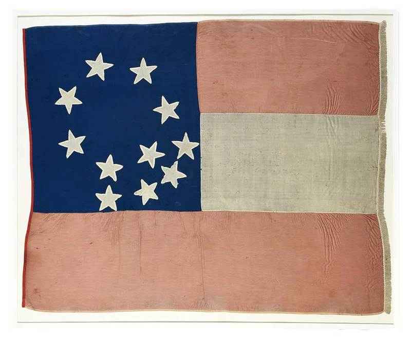 First National Flag Captured at Fort Donelson