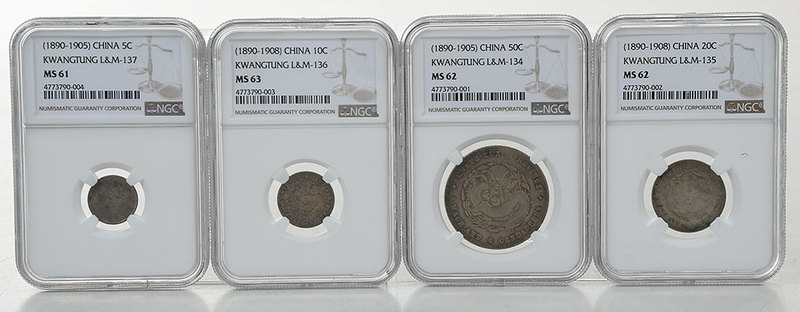 Group Four Chinese Coins