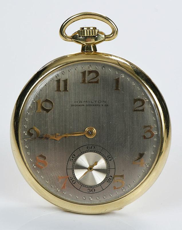 Hamilton 18kt. Pocket Watch