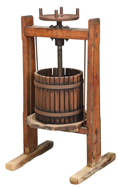 Vintage Cider Press