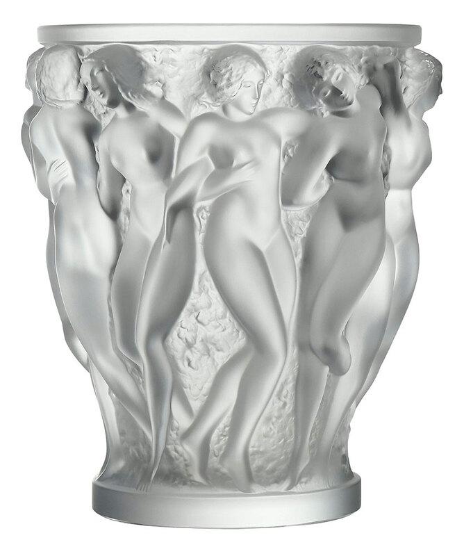 Lalique Bacchantes Vase
