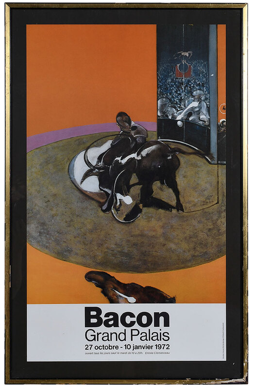 Francis Bacon Exhibition Poster