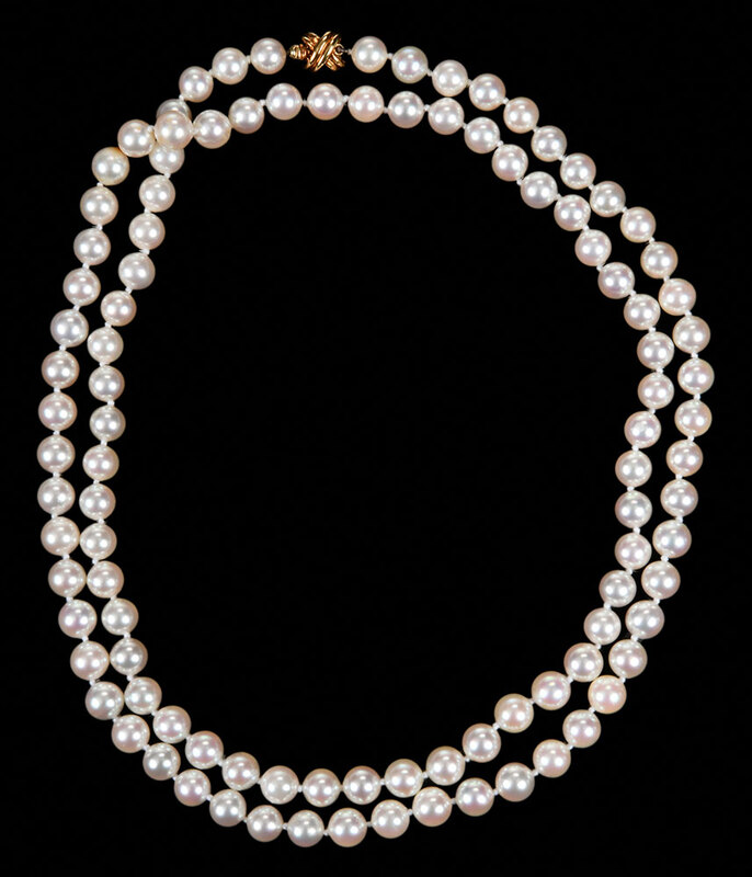Tiffany & Co. 18kt. Pearl Necklace