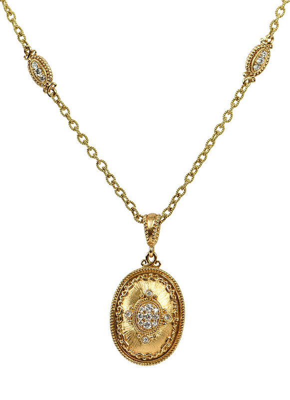Amavida 18kt. Diamond Necklace