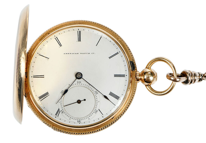 American Watch Co. 18kt. Pocket Watch