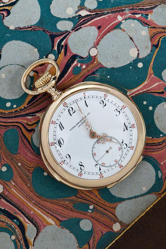 Rare Patek Philippe 18kt. Pocket Watch