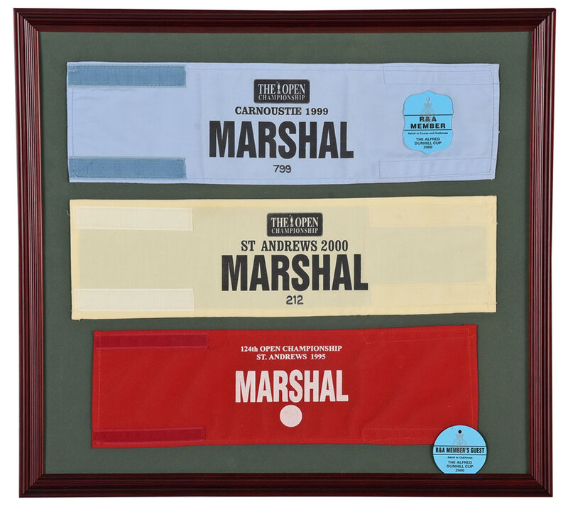 Golf Marshal Arm Bands from The British Open