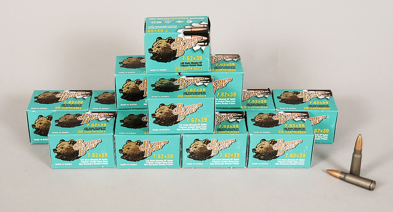 Brown Bear 7.62x39mm Ammunition