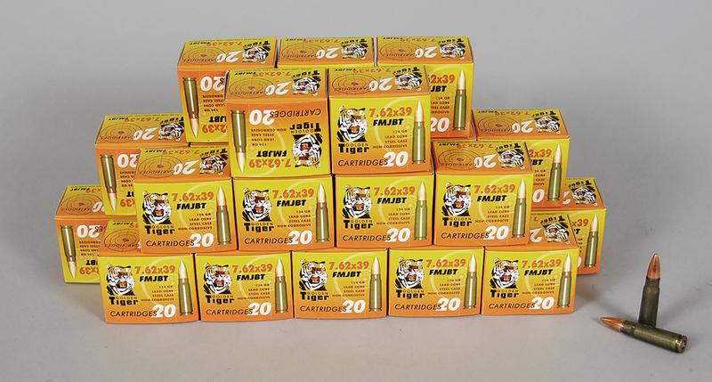 Golden Tiger 7.62 x 39 Ammunition