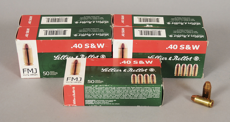 Lellier & Bellot .40 S&W Ammunition