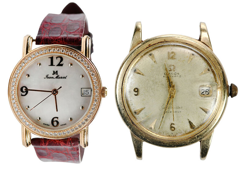 Two Gold Watches