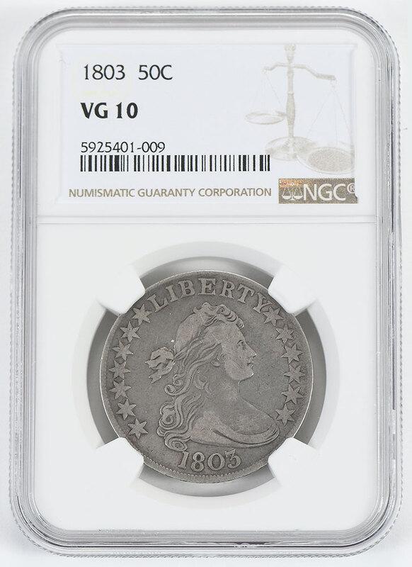 1803 Draped Bust Half Dollar