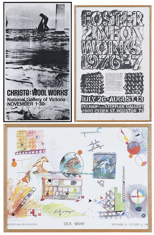 Three Signed Exhibition Posters
