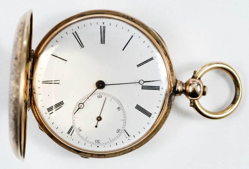 Perret & Co. 14kt. Pocket Watch