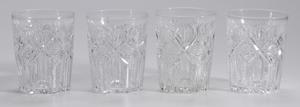 12 Hawkes Brilliant Period Cut Glass Tumblers