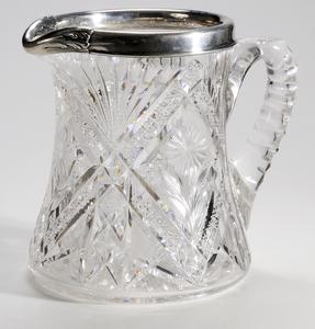 Hoare Brilliant Period Cut Glass Pitcher