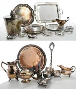 20 Silver Table Items