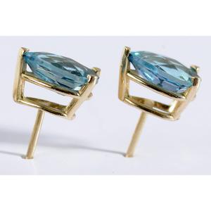 14kt., Topaz & Diamond Group of Jewelry