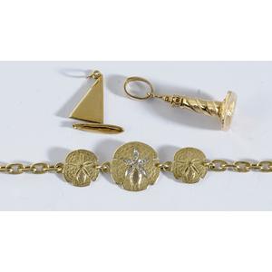 14kt. Beach Themed Jewelry