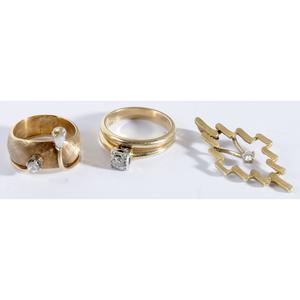 14kt. & Diamond Group of Jewelry