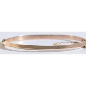 3 Gold Hinged Bangle Bracelets