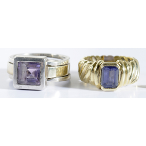 Group of 14kt. and Gemstone Jewelry