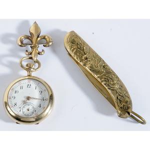 10kt. Lady's Pocket Watch