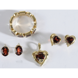 14kt., Garnet & Diamond Jewelry