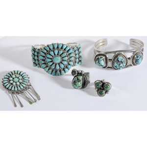 Group of Sterling Silver Southwestern Jewelry