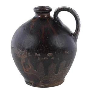 Early American Redware Jug