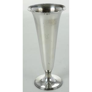 Tiffany Sterling Vase